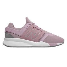 New Balance 247 v2 Kids Casual Shoes Pink / White US 4, Pink / White, rebel_hi-res
