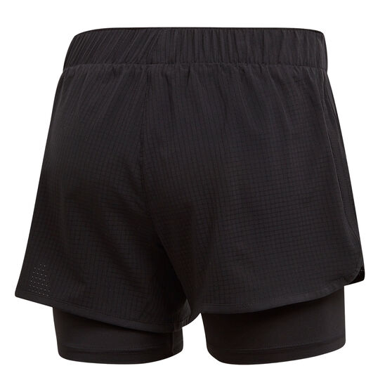 adidas Womens M10 Shorts Black XS, Black, rebel_hi-res