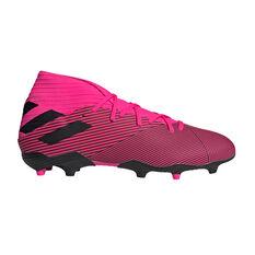 adidas Nemeziz 19.3 Football Boots Pink / Black US Mens 7 / Womens 8, Pink / Black, rebel_hi-res
