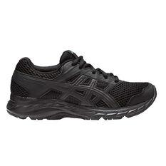 Asics Gel Contend 5 Kids Training Shoes Black US 4, Black, rebel_hi-res