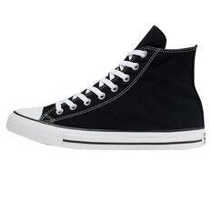 Converse Chuck Taylor All Star Hi Top Casual Shoes Black US Mens 6 / Womens 8, Black, rebel_hi-res