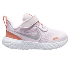Nike Revolution 5 Toddlers Shoes Lilac/White US 9, Lilac/White, rebel_hi-res
