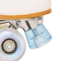 Goldcross GXCRetro2 Roller Skates White 5, White, rebel_hi-res