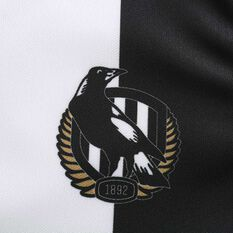 Collingwood Magpies 2020 Mens Away Guernsey, Black / White, rebel_hi-res