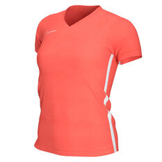 Nike Womens Dri FIT Academy19 Football Tee Red XS, Red, rebel_hi-res