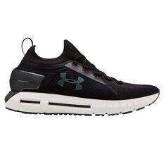 Under Armour HOVR Phantom SE Mens Running Shoes Black / White US 7, Black / White, rebel_hi-res