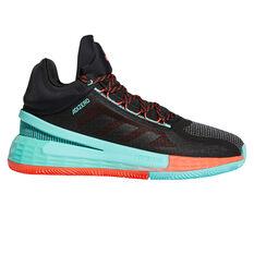 adidas D Rose 11 Basketball Shoes Black/Red US 7, Black/Red, rebel_hi-res