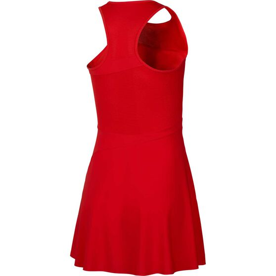 Nike Womens Maria Tennis Dress, Red, rebel_hi-res
