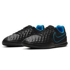 Nike Tiempo Legend VIII Club Kids Indoor Soccer Shoes, Black, rebel_hi-res