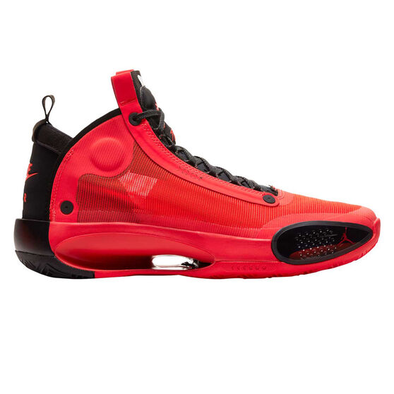 Nike Air Jordan XXXIV Mens Basketball Shoes Red/Black US 10.5, , rebel_hi-res