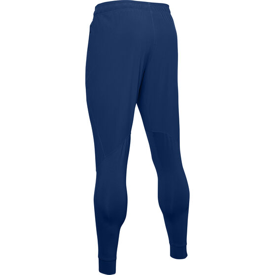 Under Armour Mens Hybrid Performance Pants, Blue, rebel_hi-res