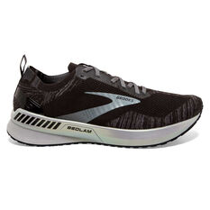 Brooks Bedlam 3 Mens Running Shoes Black/White US 8, Black/White, rebel_hi-res