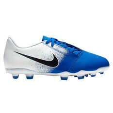 Nike Phantom Venom Club Kids Football Boots White / Black US 10, White / Black, rebel_hi-res