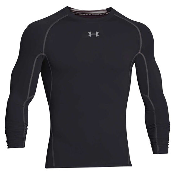 Under Armour Mens HeatGear Armour Long Sleeve Compression Top, , rebel_hi-res