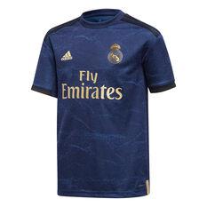 Real Madrid FC 2019/20 Kids Away Jersey Blue 8, Blue, rebel_hi-res