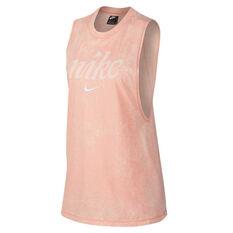 Nike Womens Sportswear Tank Coral XS, , rebel_hi-res