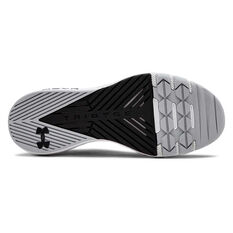 Under Armour Project Rock 2 Mens Training Shoes, Black / White, rebel_hi-res
