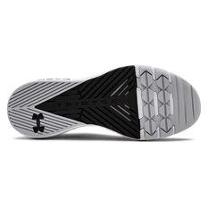 Under Armour Project Rock 2 Mens Training Shoes Black / White US 8, Black / White, rebel_hi-res