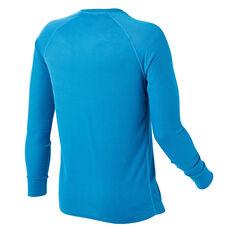 Tahwalhi Mens Peak Thermal Long Sleeve Top Blue S, Blue, rebel_hi-res