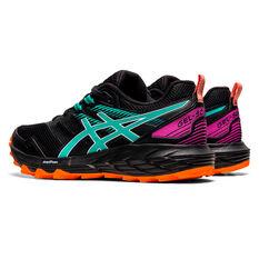 Asics GEL Sonoma 6 Womens Trail Running Shoes, Black/Blue, rebel_hi-res