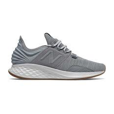 New Balance Fresh Foam Roav Mens Running Shoes Grey US 7, Grey, rebel_hi-res