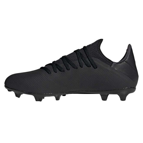 adidas X 19.3 Football Boots, Black / Silver, rebel_hi-res