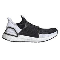 adidas Ultraboost 19 Mens Running Shoes Black / Grey US 7, Black / Grey, rebel_hi-res