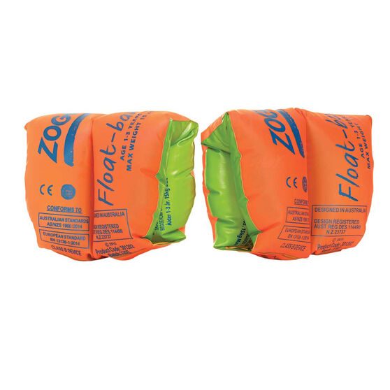 Zoggs Inflatable Float Bands (3-6 Years), , rebel_hi-res