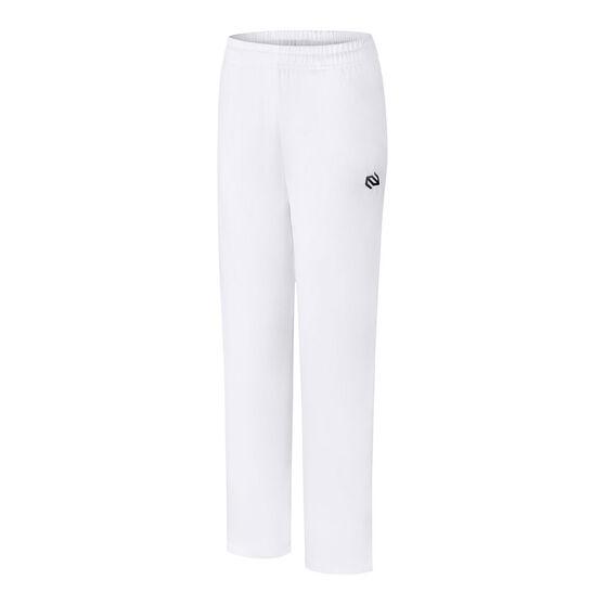 Terrasphere Kids Cricket Pants, White, rebel_hi-res