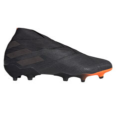 adidas Nemeziz 19+ Football Boots Black/Orange US Mens 8 / Womens 9, Black/Orange, rebel_hi-res