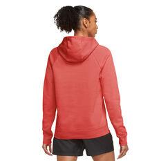 Nike Womens Sportswear Essential Funnel Neck Hoodie Red XS, Red, rebel_hi-res