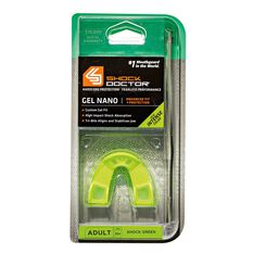 Shock Doctor Gel Nano Mouthguard Green Youth, , rebel_hi-res