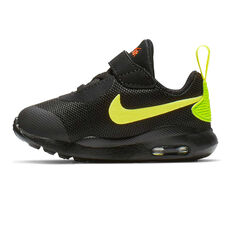 Nike Air Max Oketo Toddlers Shoes Black / Green 4, Black / Green, rebel_hi-res
