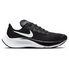 Nike Air Zoom Pegasus 37 Kids Running Shoes Black / White US 1, Black / White, rebel_hi-res