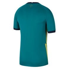 Australia 2020/21 Kids Away Jersey Green XS, Green, rebel_hi-res