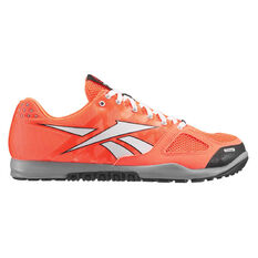 Reebok Crossfit Nano 2.0 Mens Training Shoes Orange / White US 7, Orange / White, rebel_hi-res