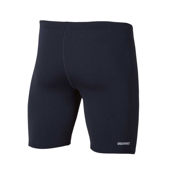 Speedo Mens Basic Waterboy Swim Short Black 22, Black, rebel_hi-res