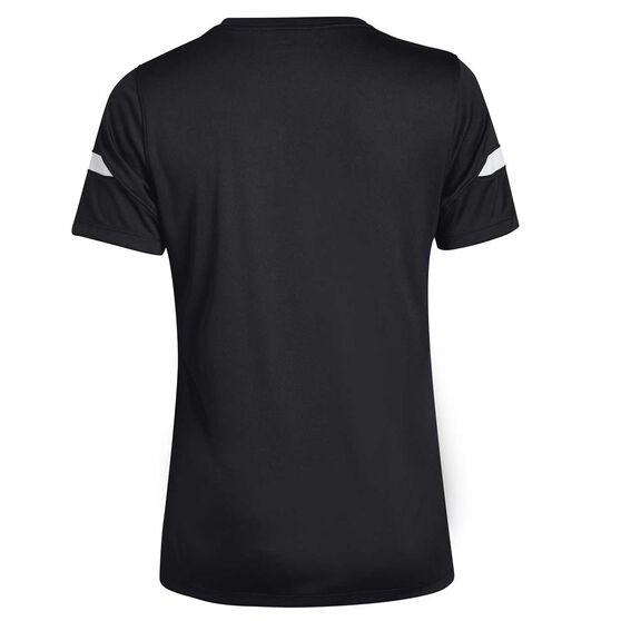 Under Armour Womens Golazo 2.0 Soccer Tee, Black, rebel_hi-res