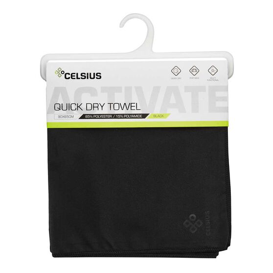 Celsius Quick Dry Microfibre Gym Towel, , rebel_hi-res