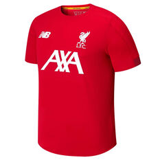 Liverpool FC 2019/20 Mens On Pitch jersey Red S, Red, rebel_hi-res