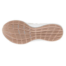 adidas Edgebounce Womens Running Shoes, White / Grey, rebel_hi-res