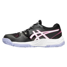 Asics GEL Netburner 20 Girls Netball Shoes Black/Pink US 1, Black/Pink, rebel_hi-res