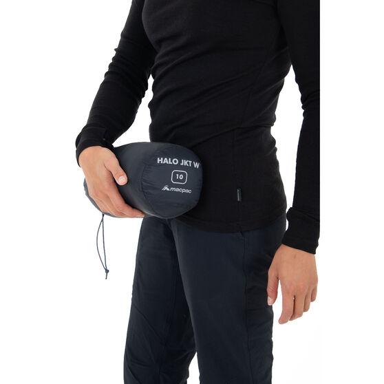 Macpac Womens Halo Jacket, Black, rebel_hi-res