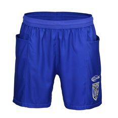 Canterbury-Bankstown Bulldogs 2019  Men's Training Shorts Blue S, Blue, rebel_hi-res