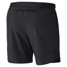Nike Mens Air Challenger 7in Running Shorts Black M, Black, rebel_hi-res