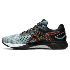 Asics GT 4000 2 2E Mens Running Shoes Grey/Black US 7, Grey/Black, rebel_hi-res