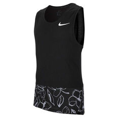 Nike Mens Dri-FIT HPR Training Tank Black M, Black, rebel_hi-res