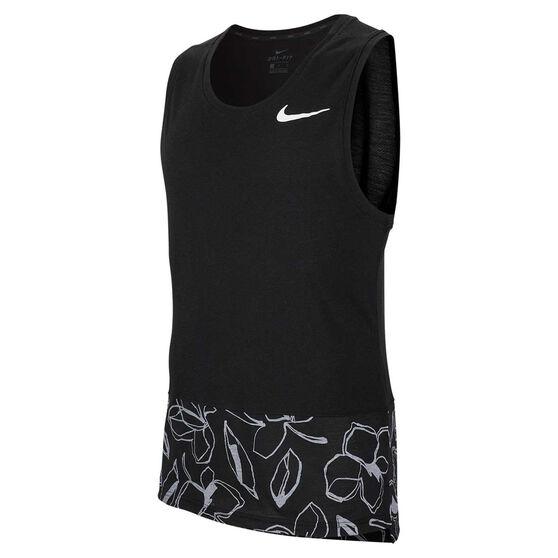 Nike Mens Dri-FIT HPR Training Tank Black M, Black, rebel_hi-res