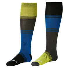 SVNT5 Mens Tonal Switch Socks Blue / Black US 8 - 12, , rebel_hi-res