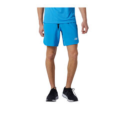 New Balance Mens R.W.T Woven Training Shorts Blue S, Blue, rebel_hi-res